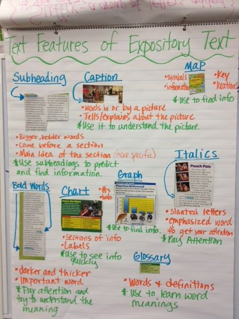 which is an example of expository text