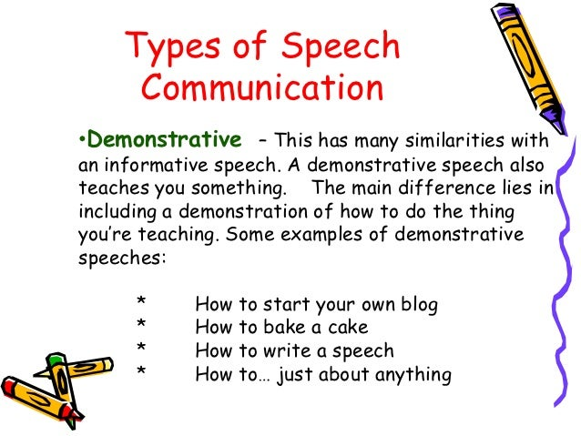 provide an example of oral communication
