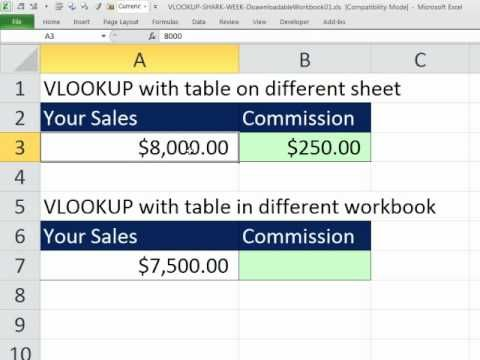 vlookup in excel 2007 with example in excel sheet