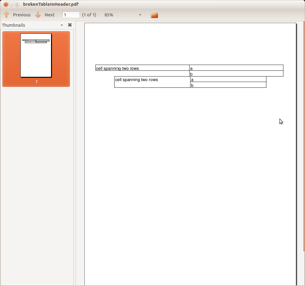 itext pdf table example in java