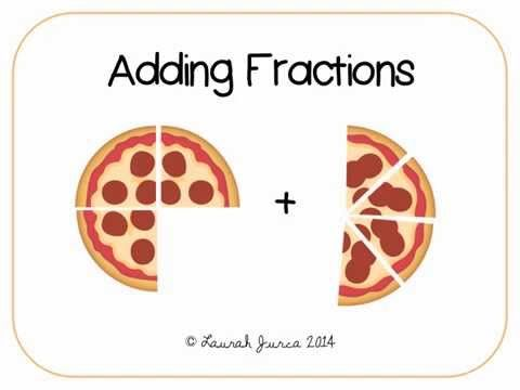 example of fractions in real life