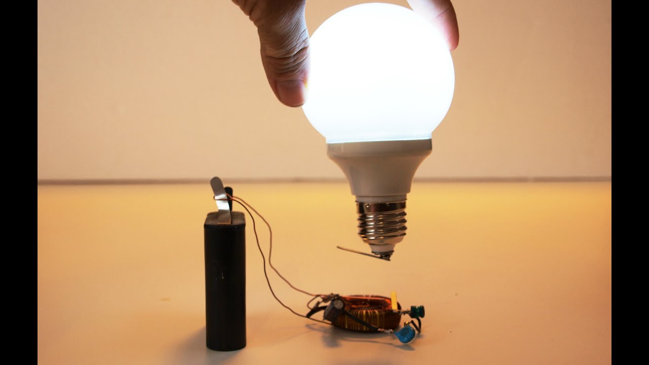 example of electrical energy to light energy
