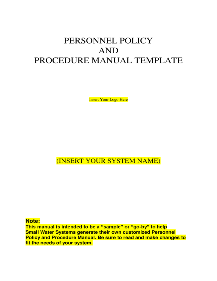 termination policy and procedure example