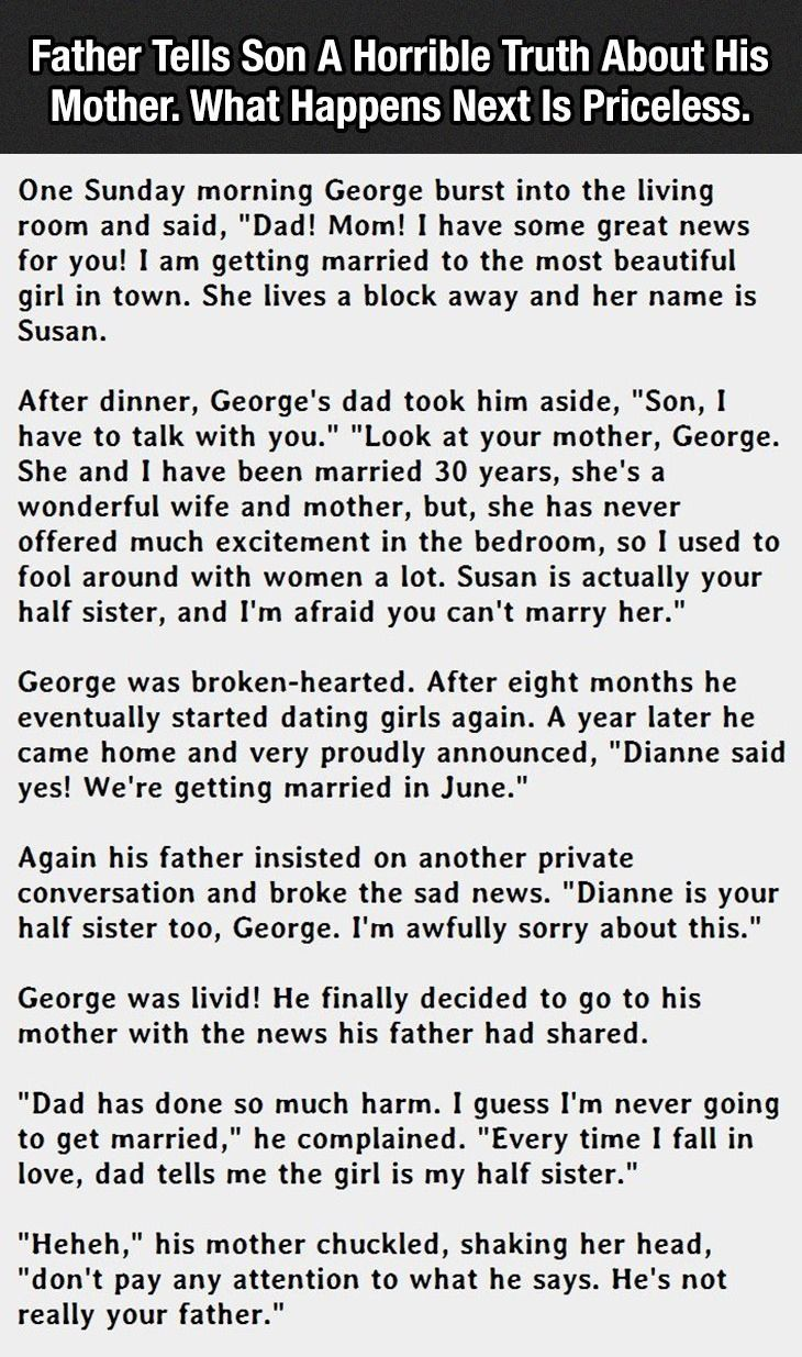 an example of a short story about mother