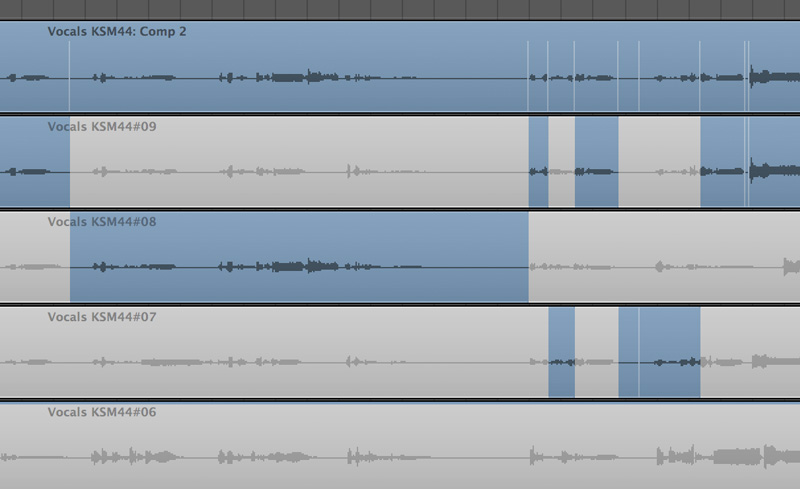 modern rap example song logic pro