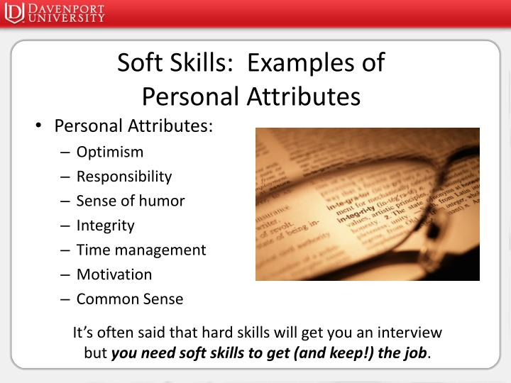 reumse example with soft skills