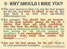 why should we hire you example answer for fresh graduate
