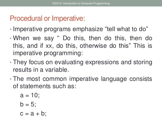 event driven programming example c