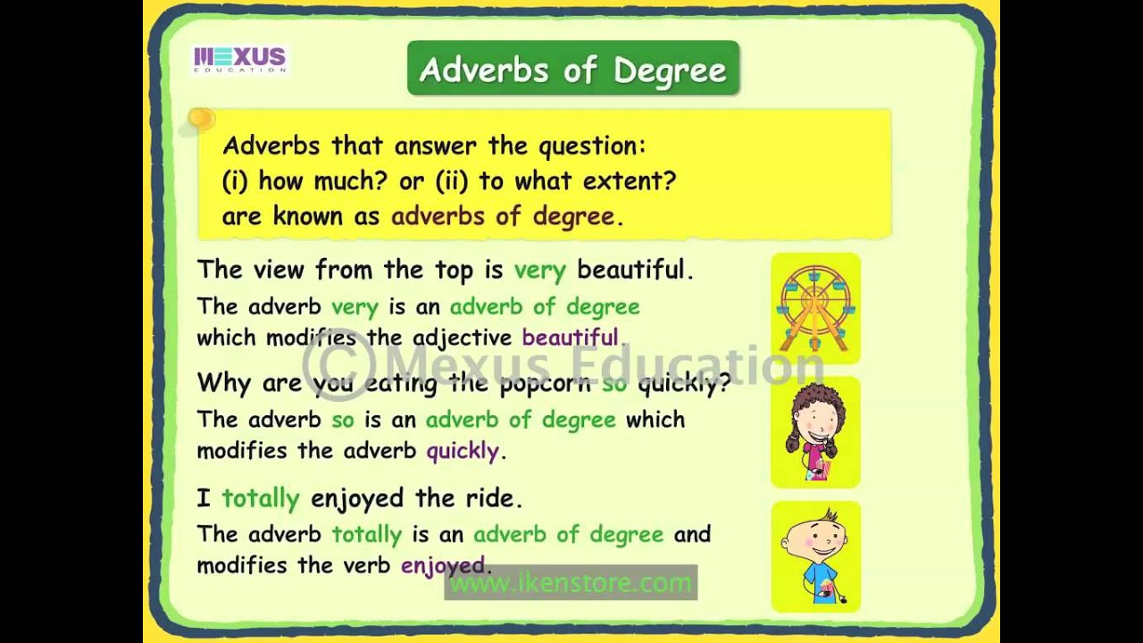 give an example of adverb in a sentence