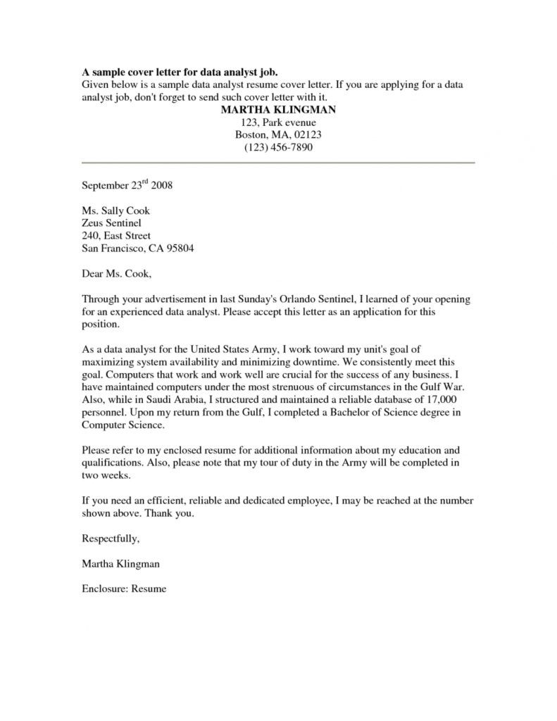 investment banking analyst cover letter example