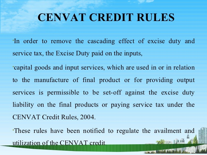 excise duty meaning with example