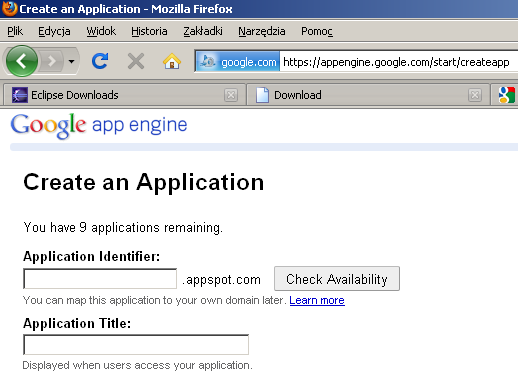 google app engine is an example of