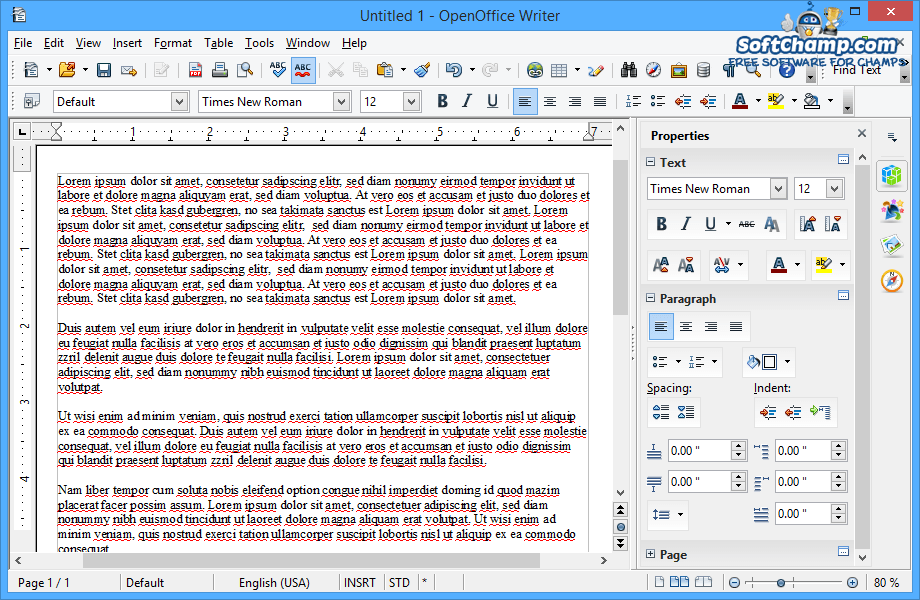 apache openoffice is an example of a