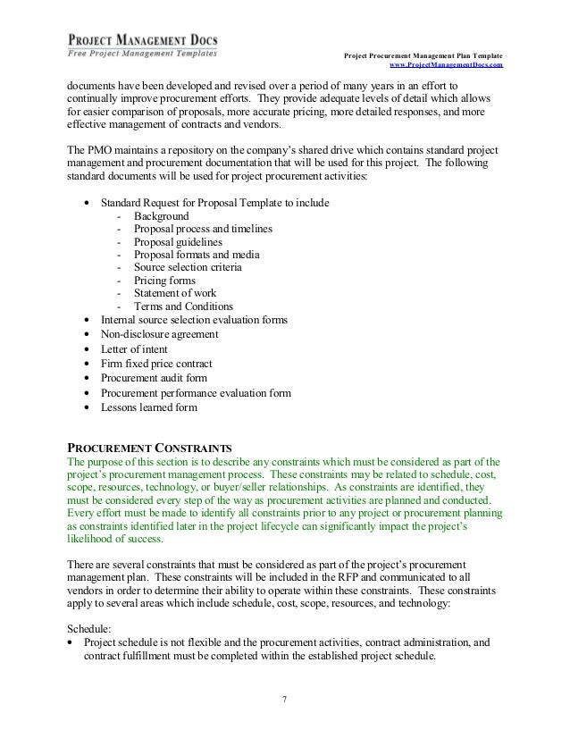 project management work package example