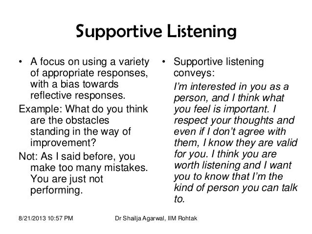 an example of interpersonal communication