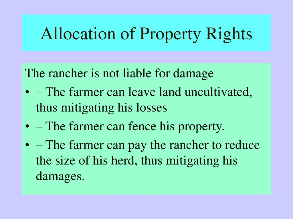 coase theorem example rancher farmer
