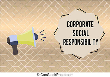 corporate social responsibility policy example