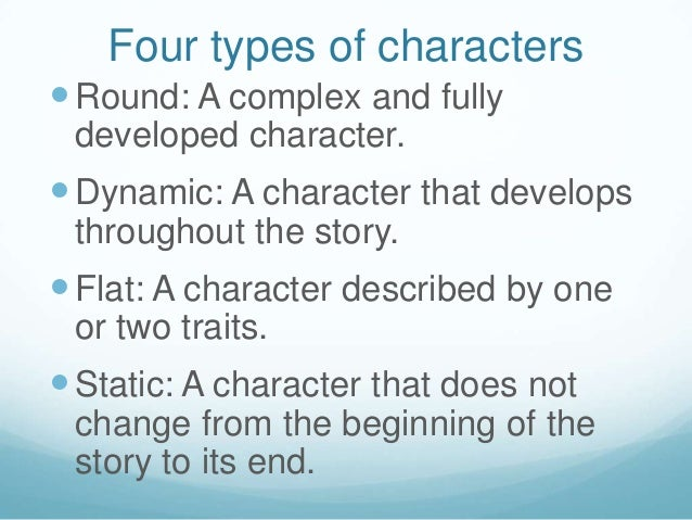 dynamic or round character example