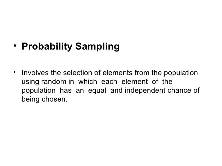example of stratified sampling technique