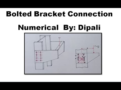 bolted moment connection design example