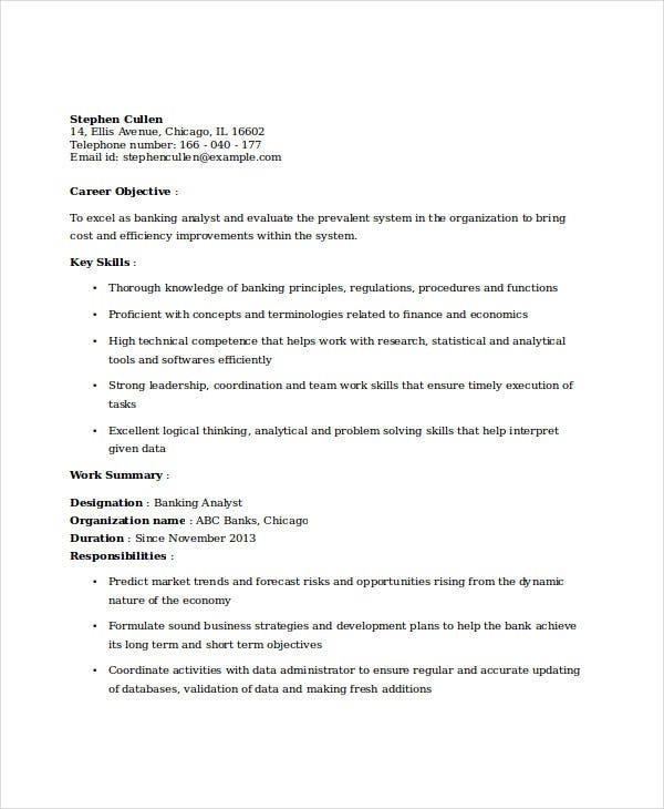 educational attainment example in resume