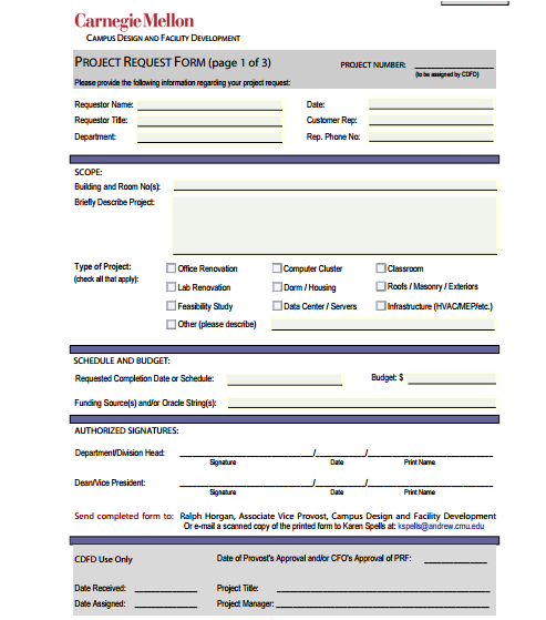 example of a sign requisition form