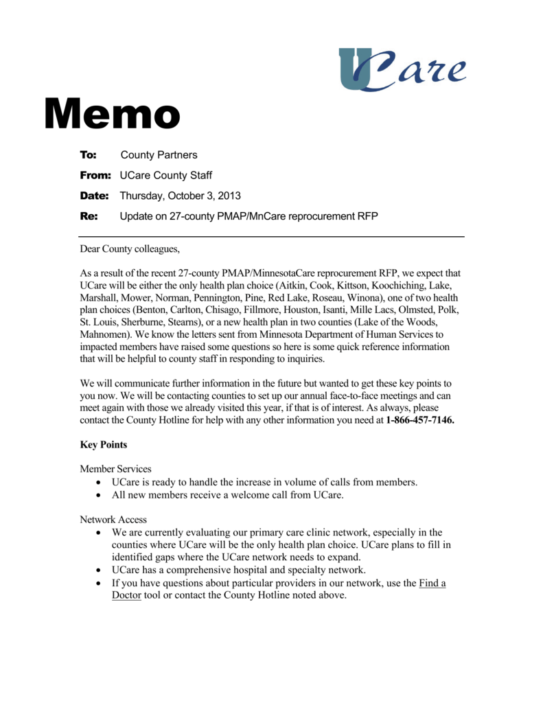 example of progress report memo