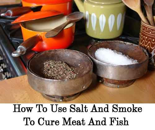 example of smoking food preservation