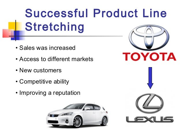 example of downward product line stretching