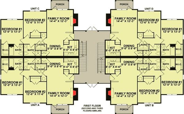 example of apartment layout design