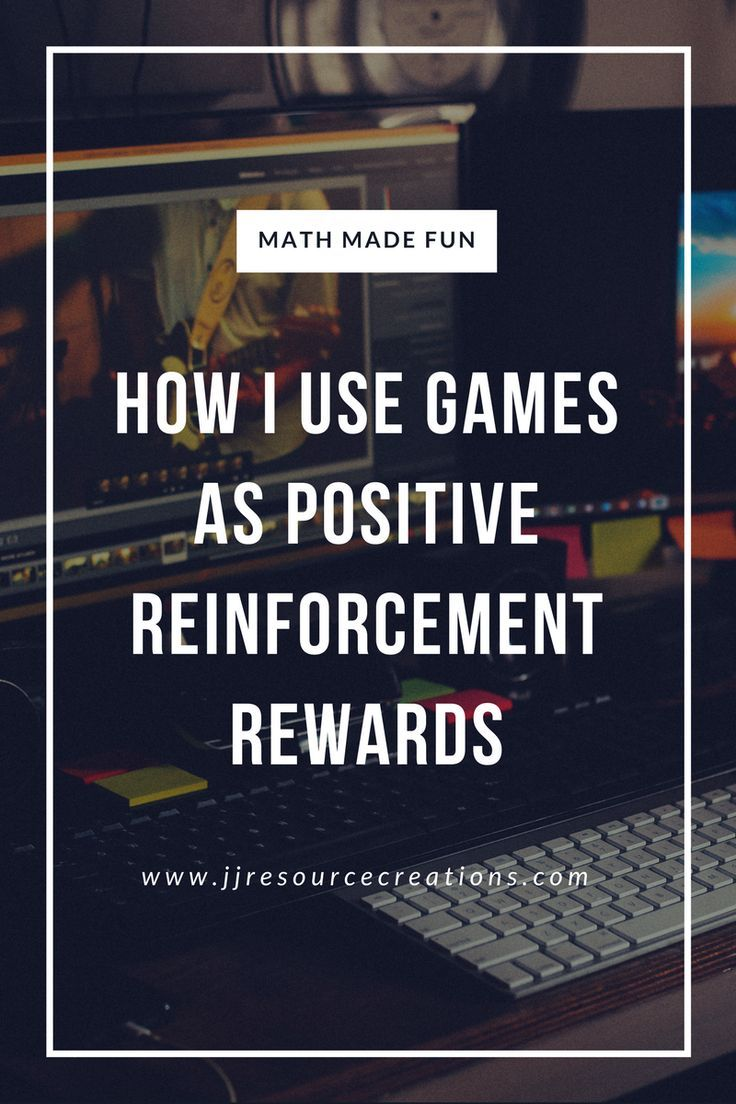 give an example of positive reinforcement
