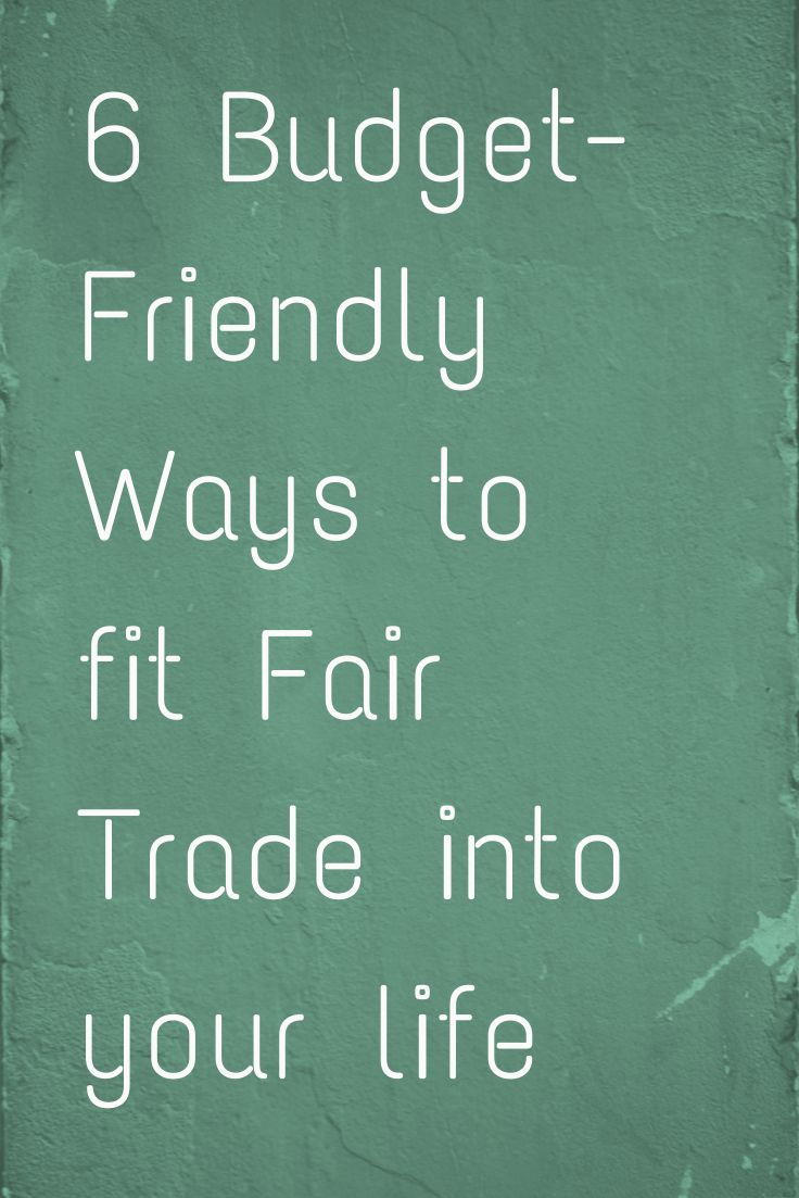 how is fair trade an example of ethical trading