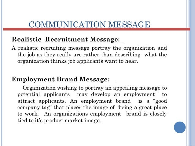 message to the hiring manager example