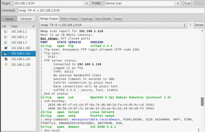 nmap scan specific port example