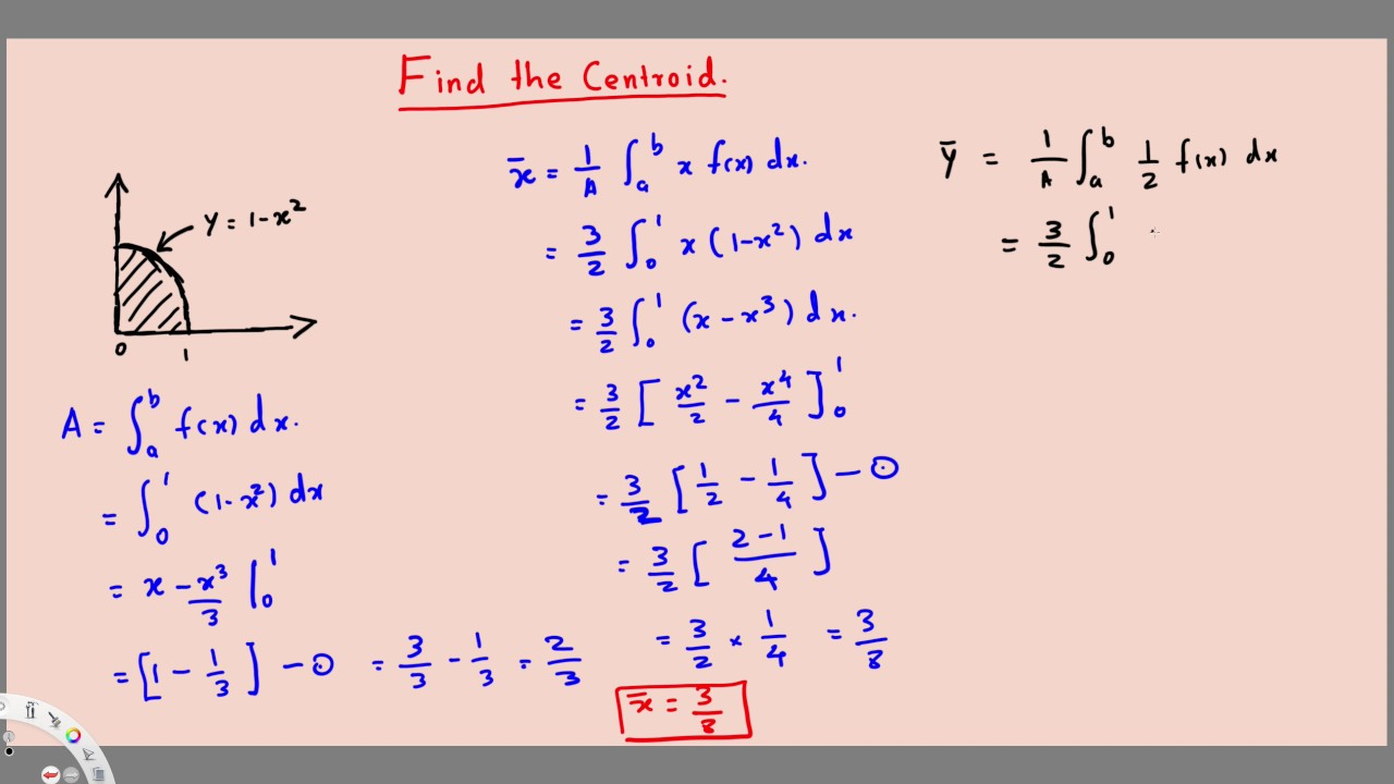 power formula integral calculus example