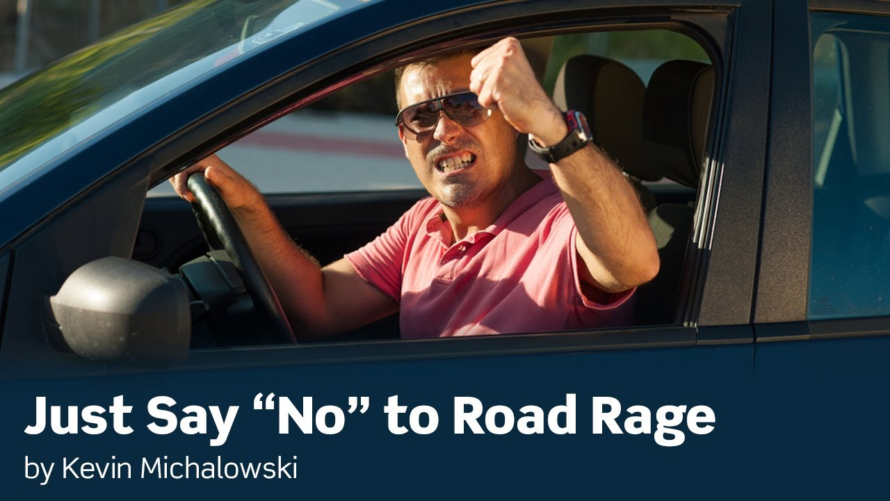 road rage is the most extreme example of