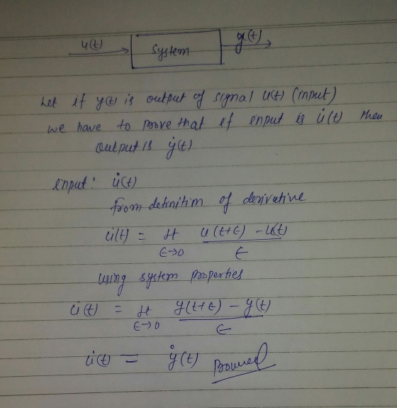 time invariant system practical example