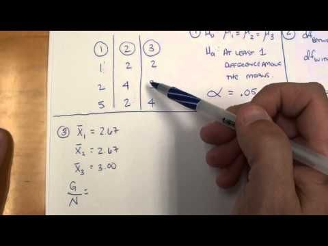 two way anova example step by step by hand