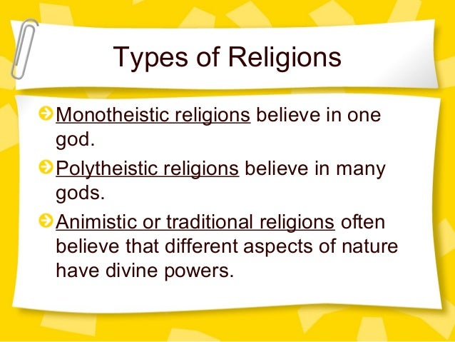 what is an example of polytheism