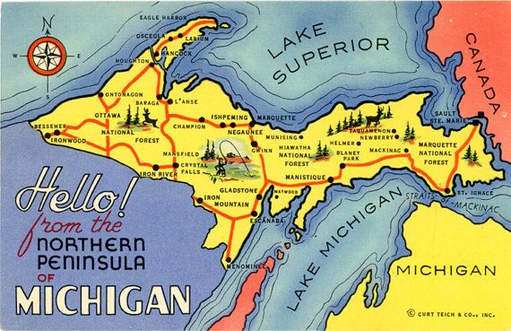 what us state is an example of a peninsula